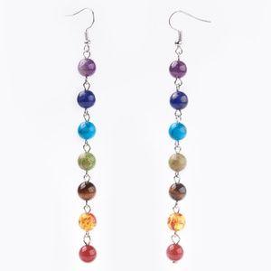 7 Chakra Gemstone Earrings